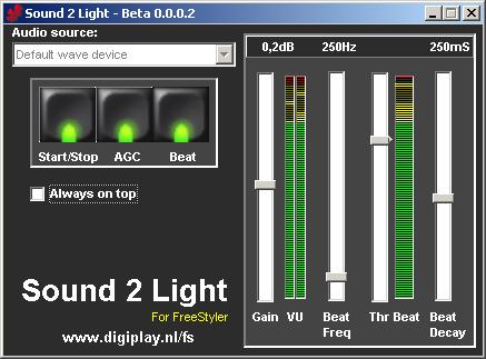 Sound to Light CPU Intensive=Problem - Support Forum